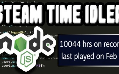 Do It Yourself – Tutorials – How to Make Your Own Steam Idle Master, Programming Steam Hours Booster | Simple Node JS Tutorial