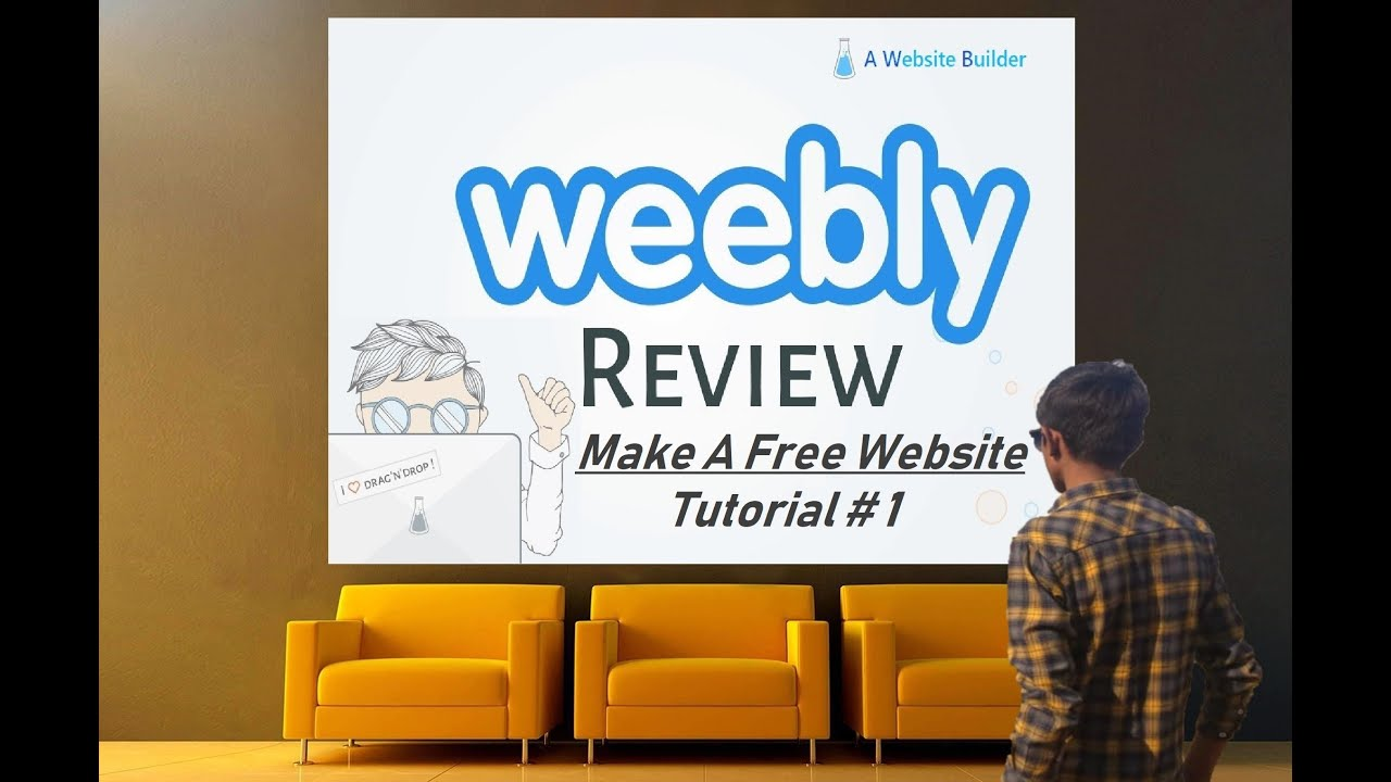Make Your Own Website on WEEBLY -Tutorial# 1