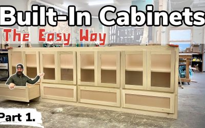 Do It Yourself – Tutorials – How To Make a Giant Built-In Cabinet || Built-In Cabinet Tutorial