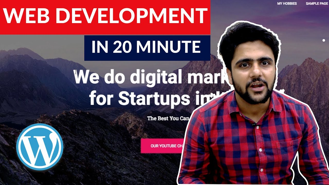 How to Create a website for Free? Make you own Website | FREE Digital Marketing Course in Hindi