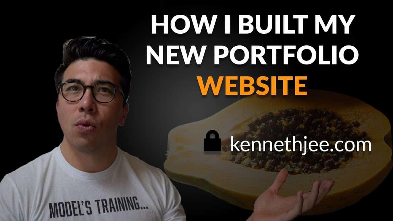 How to Build a Website  - Building my ULTIMATE Portfolio Website