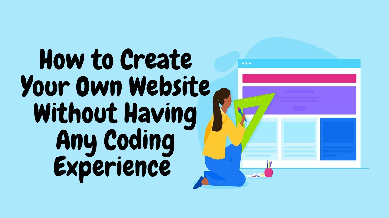 How to Create Your Own Website Without Having Any Coding Experience - Bluehost WordPress Tutorial