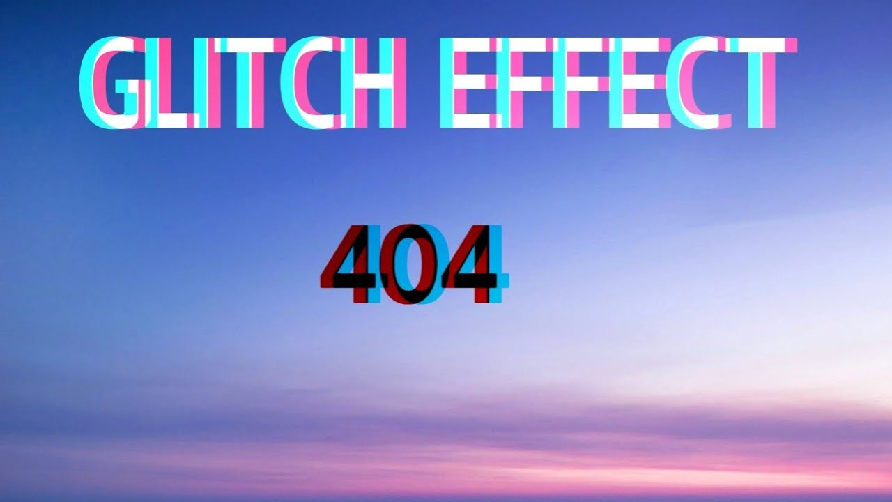 Glitch Effect || Html & Css tutorial || Morb