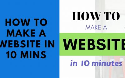 Do It Yourself – Tutorials – How to Make a Website In 10 Mins – Bluehost WordPress Tutorial