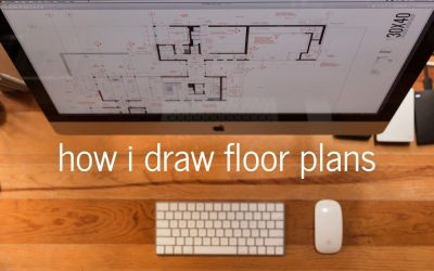 Do It Yourself – Tutorials – Architectural Drawing Tutorial | My process + settings