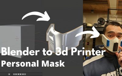 Do It Yourself – Tutorials – Blender Tutorial- How to Design and 3d Print Your Own Personal Mask