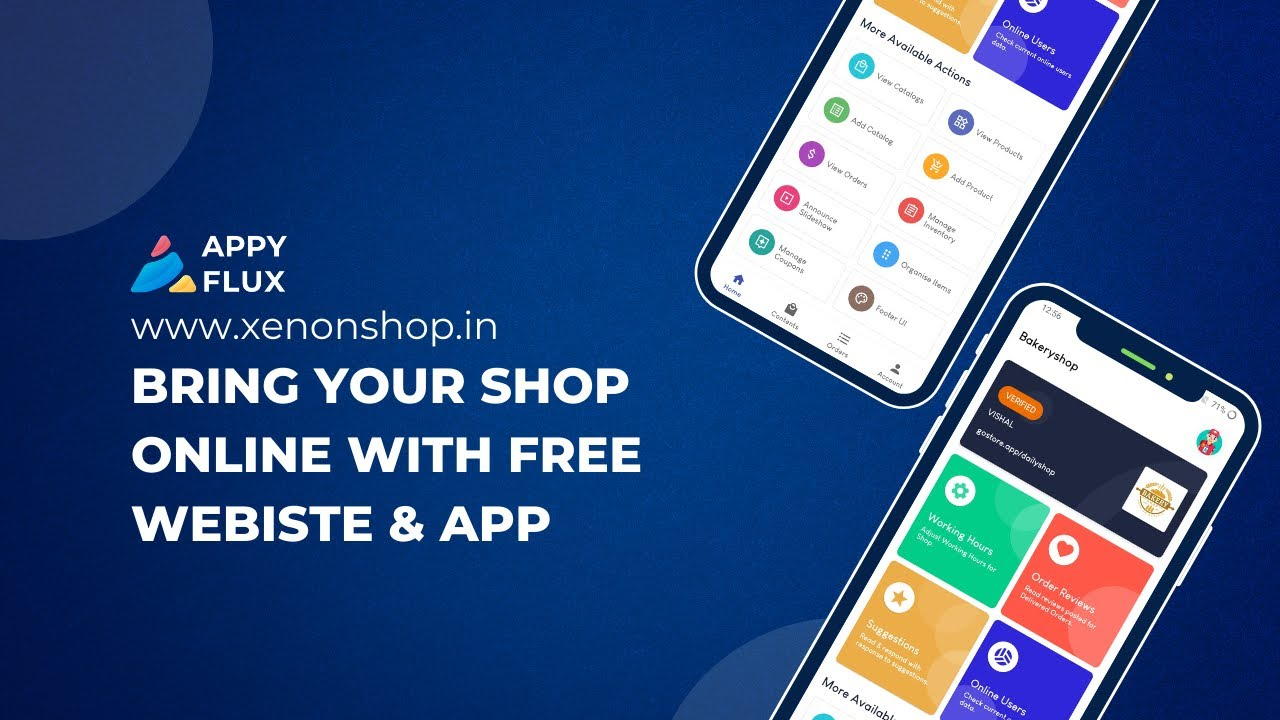 Create Your Online Store using XenonShop | Free App and Website | WhatsApp Selling | Unlimited Items