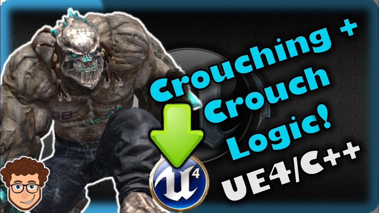 Crouch Attacks + Logic! | How To Make YOUR OWN Fighting Game! | UE4 and C++ Tutorial, Part 56