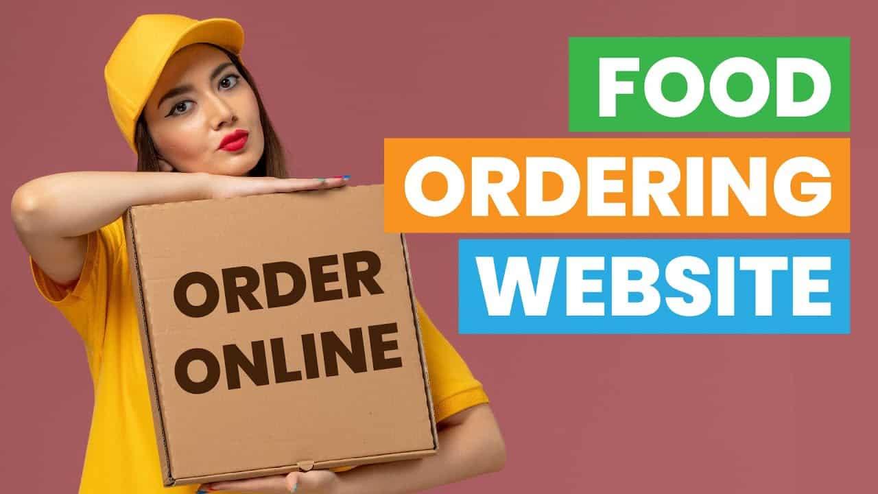 Food Ordering Website Wordpress 2021