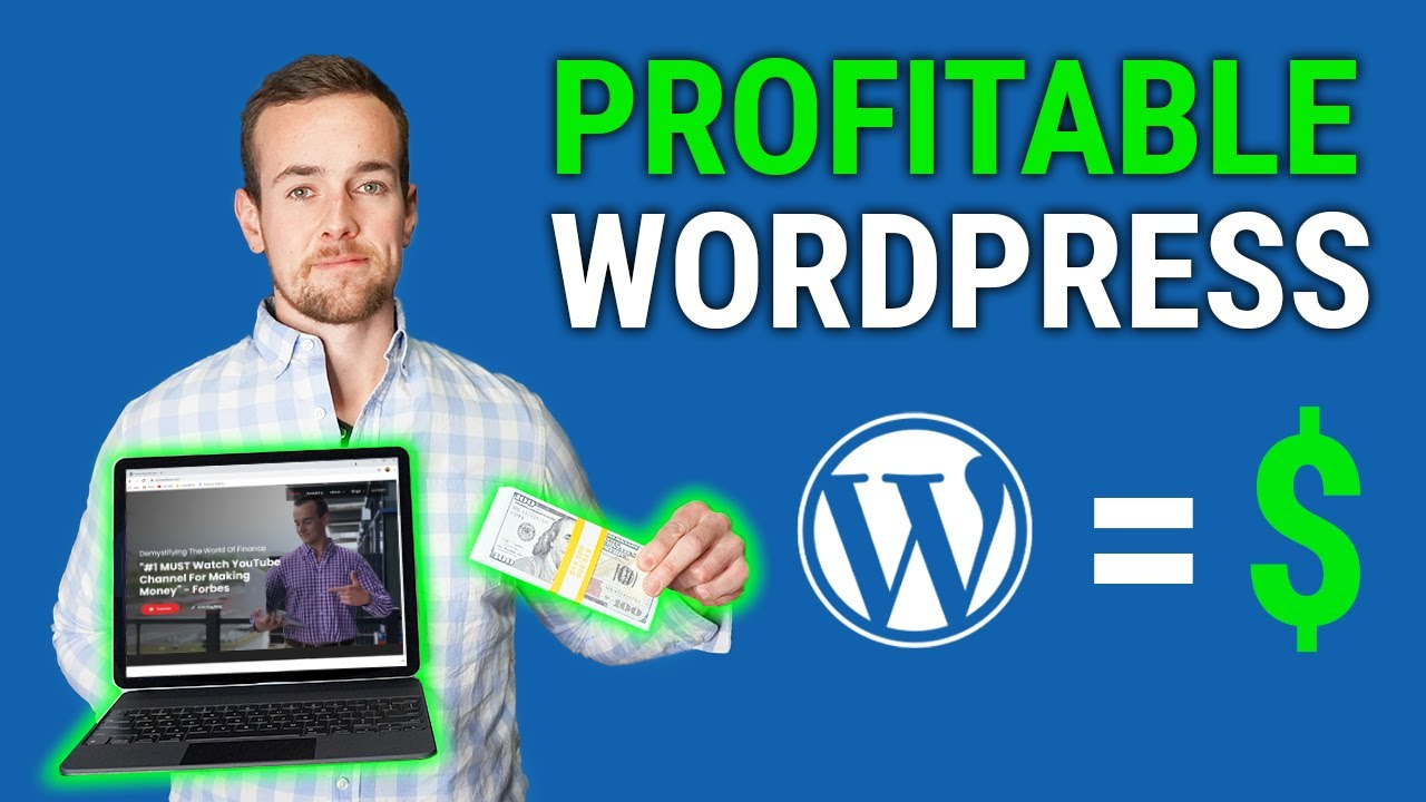 How To Make A Profitable Wordpress Website/Blog In 2021 (Step By Step Tutorial)
