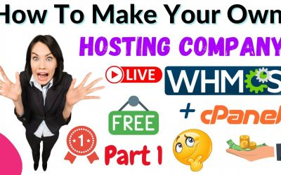 Do It Yourself – Tutorials – How To Make Own Web Hosting Company or Website | Whmcs Tutorial | Part 1