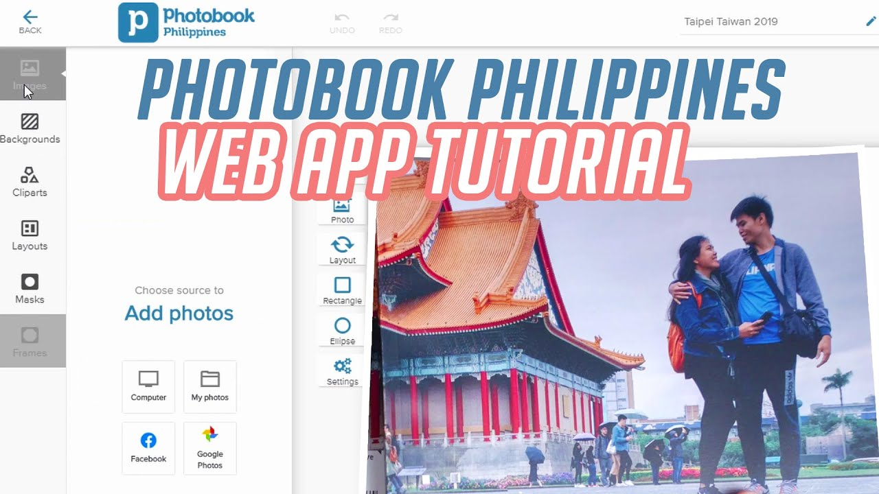 How to Create Photobook Philippines   Web App Tutorial