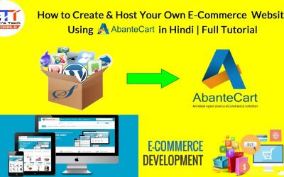Do It Yourself – Tutorials – How to Create & Host Your Own E-Commerce  Website using Abante Cart in Hindi | Full Tutorial