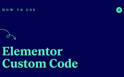 Do It Yourself – Tutorials – How to Use Elementor's Custom Code Feature