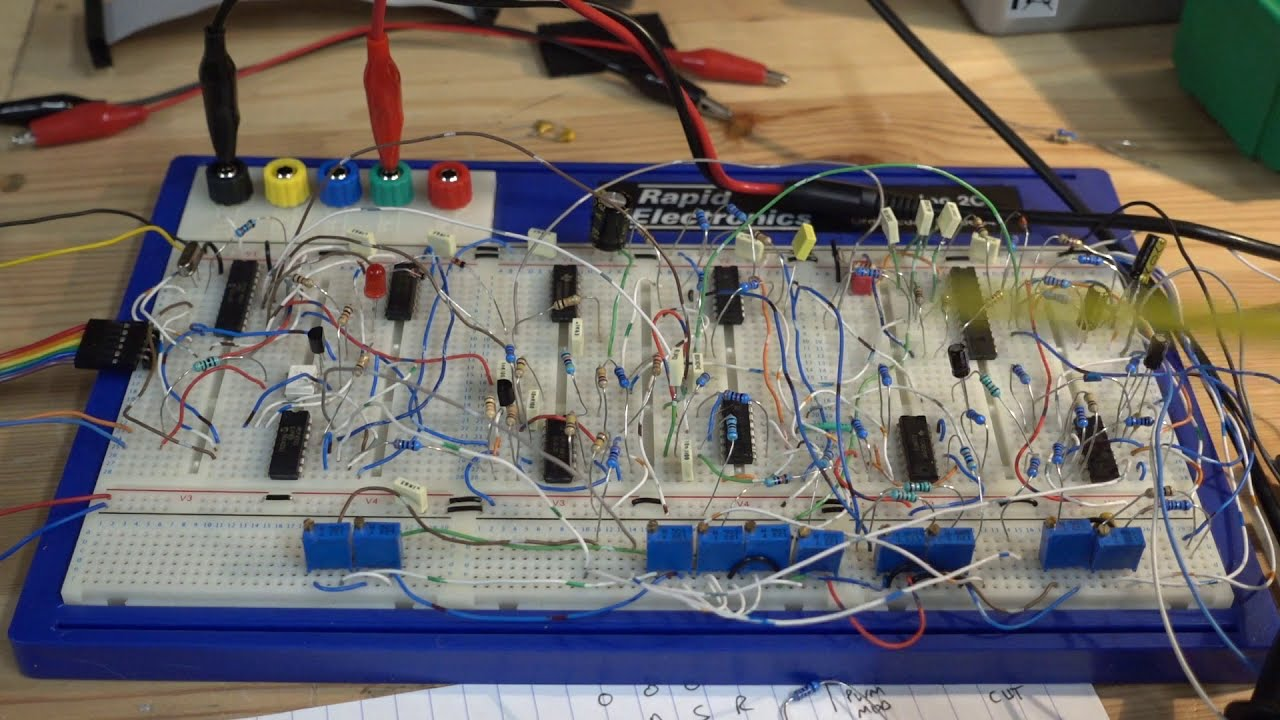 Introducing the RH-1 DIY Analog Synthesizer