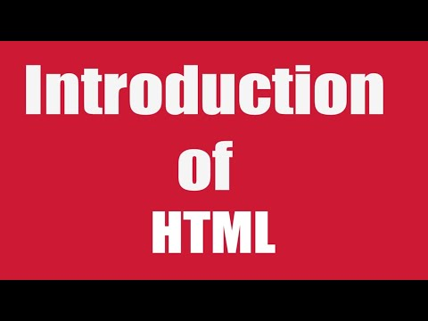 Introduction of HTML//Amrish Singh//Make your own website 2019.