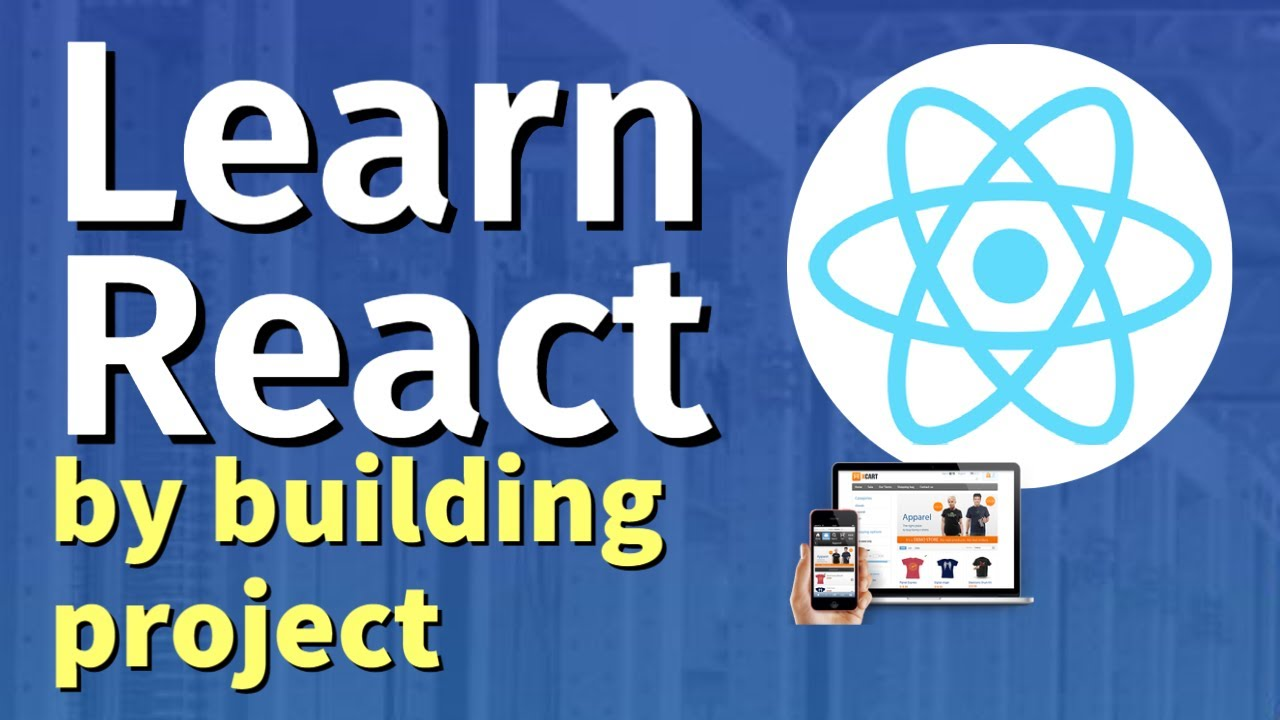 ReactJS Frontend Web Development | Learn By Building Projects (including Hooks, React Router, Redux)