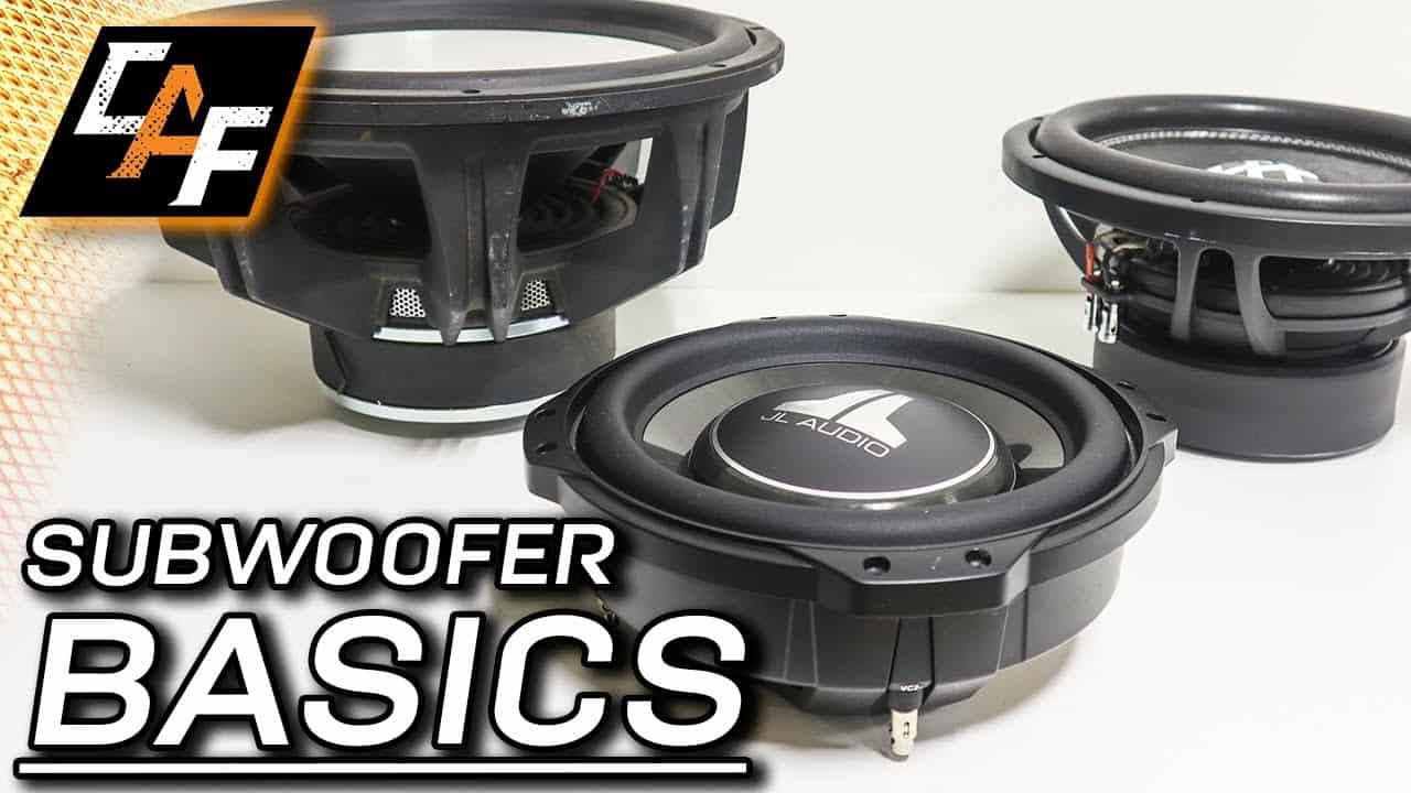 Subwoofer size, voice coils, wiring, matching amp EXPLAINED! Car Audio Subwoofer Basics