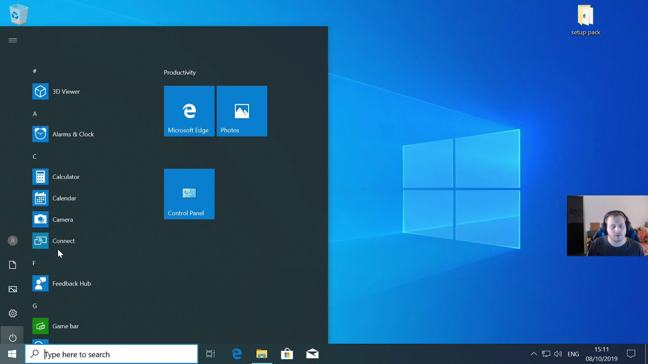 how to host your own website on your PC from scratch ( win 10 )
