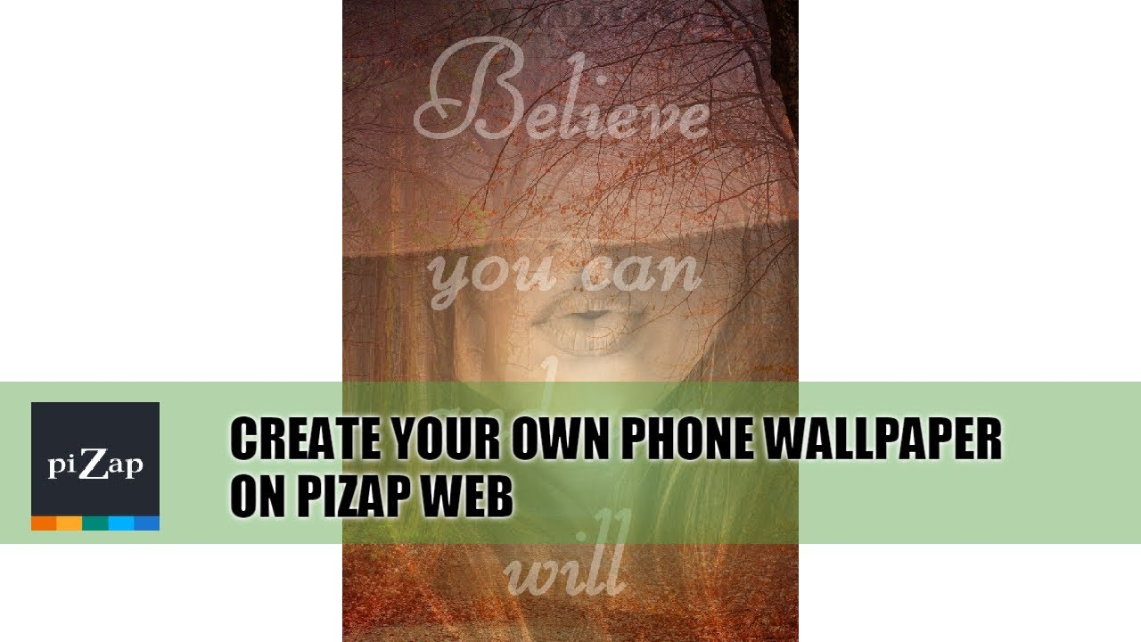 piZap's Quick Photo Editing Tutorial: Create your own phone wallpaper on piZap web