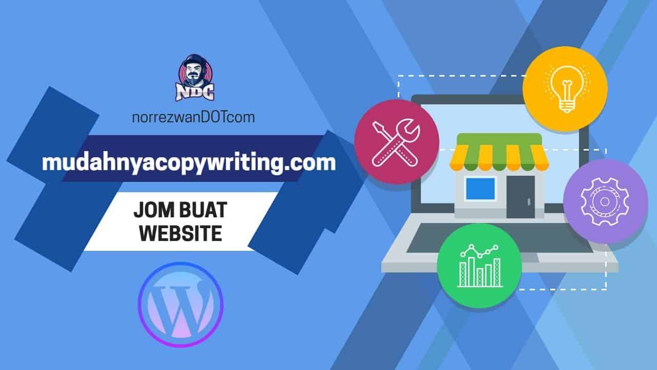 Buat Website 1 jam Wordpress - Step by Step