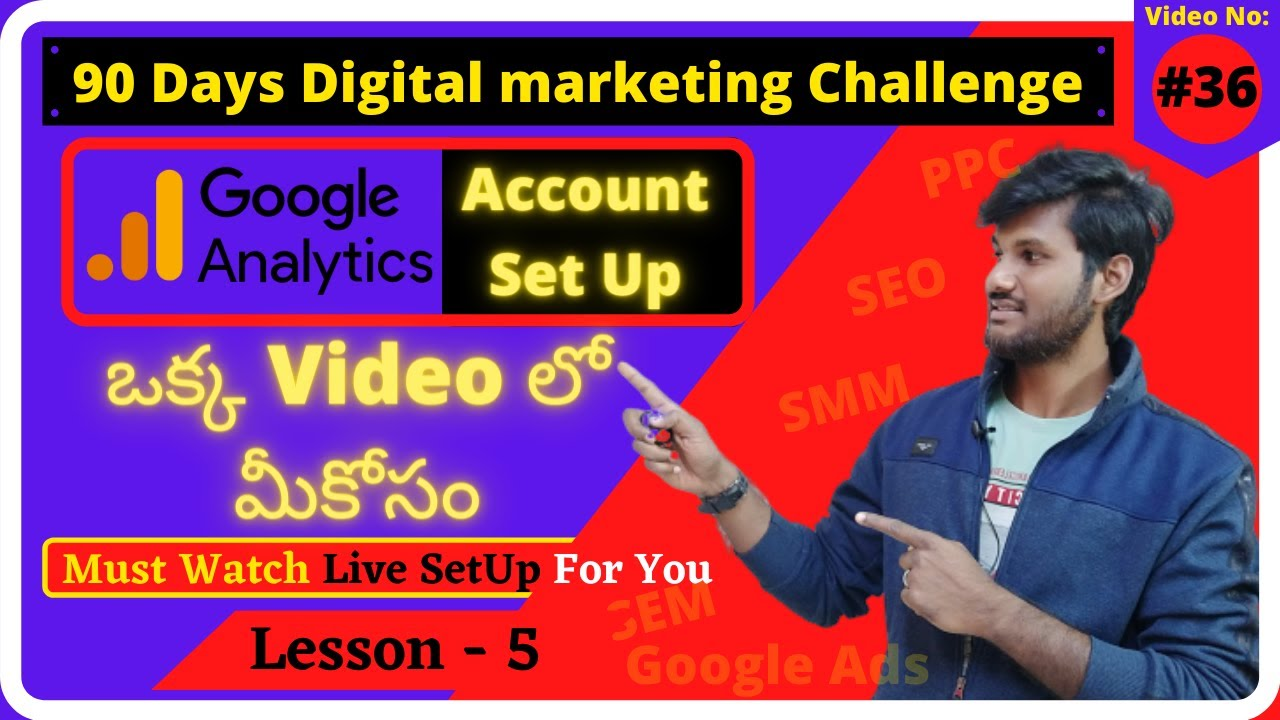 Google Analytics Tutorial for Beginners Wordpress | 90 Days Digital Marketing Challenge