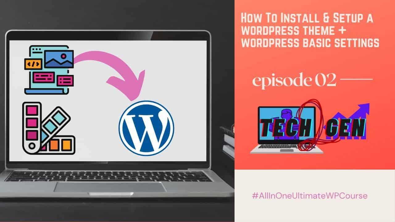 How To Install Theme In Wordpress - Step By Step Tutorial | WordPress Tutorials