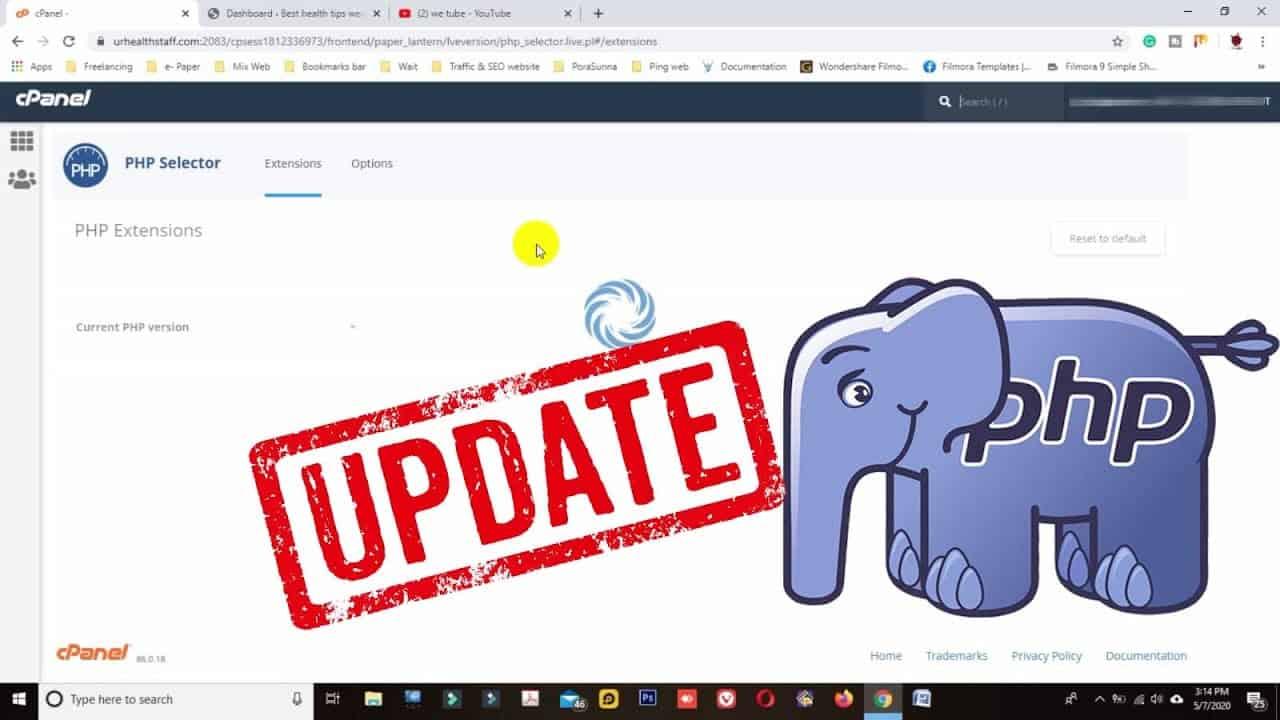 How To Update WordPress Website PHP Version | How To Update PHP To Remove PHP Update Required Notice