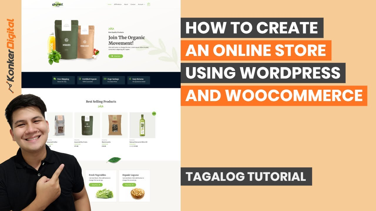 How to Create an Online Store with WordPress and WooCommerce - Step by Step Tutorial 2021