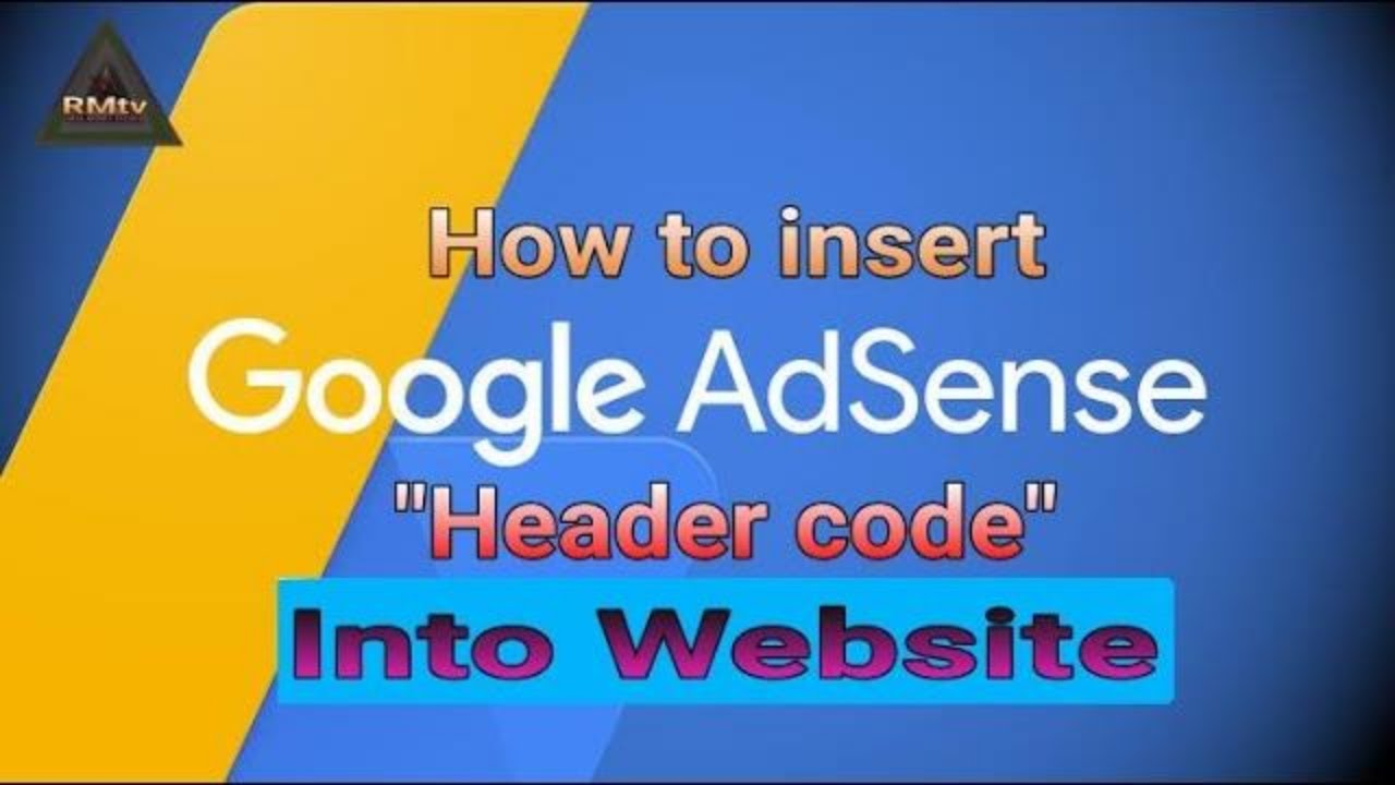 How to Insert Google AdSense HTML header code into WordPress Website | Tutorial video