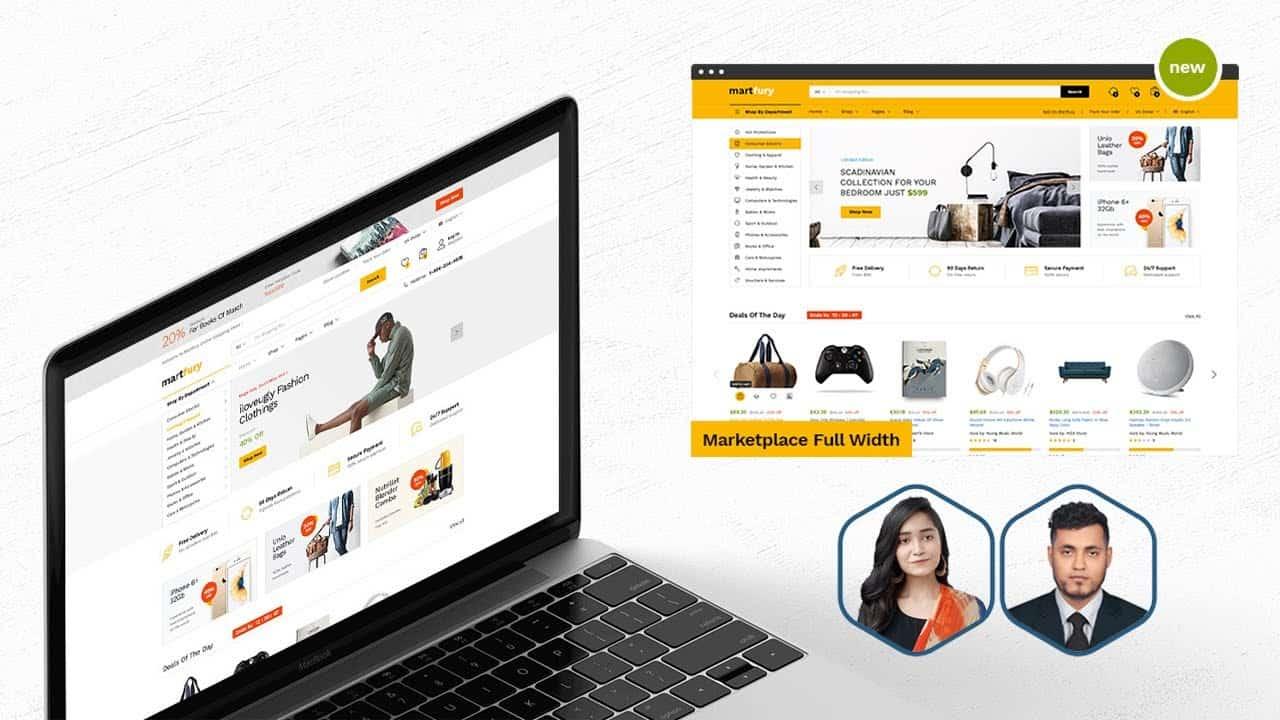 Martfury - How To Create Make An Ecommerce Website With WordPress Bangla Tutorial For Beginners