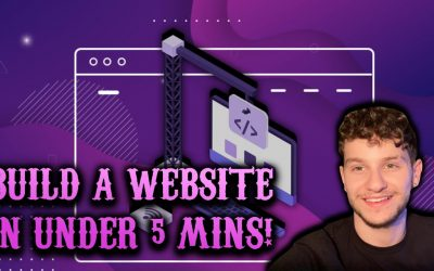 Do It Yourself – Tutorials – How To Build A Website In Under 5 Minutes (COMPLETELY FREE)!