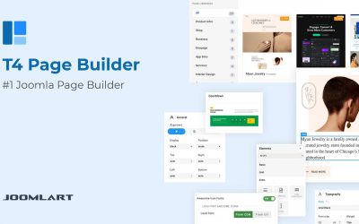 Do It Yourself – Tutorials – How to Build a Joomla Website using T4 Joomla Page Builder, Step-by-Step Tutorial