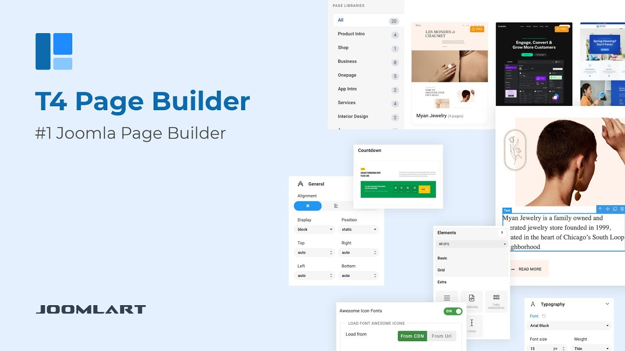 How to Build a Joomla Website using T4 Joomla Page Builder, Step-by-Step Tutorial