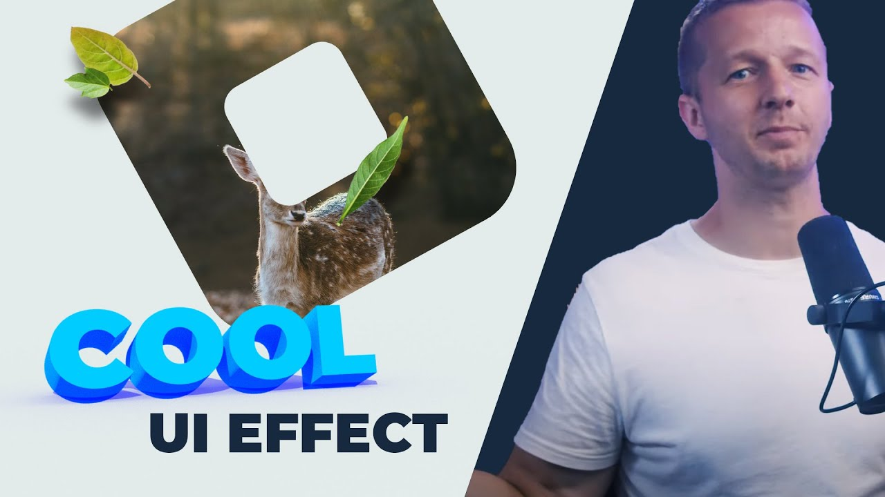 Cool UI Effect with SVG Clip Path, CSS Aspect Ratio & More..