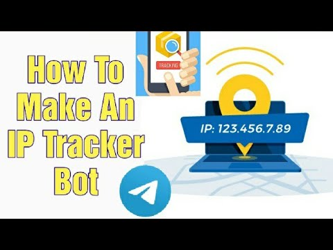 How To Make Your Own IP Tracker Bot In Telegram | Updated In 2021 | Easy Full Tutorial
