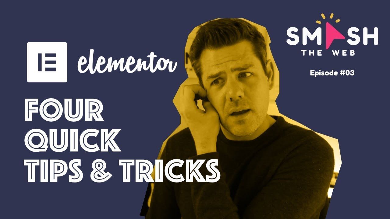 Four Tips & Tricks to help with your Elementor Pro website.