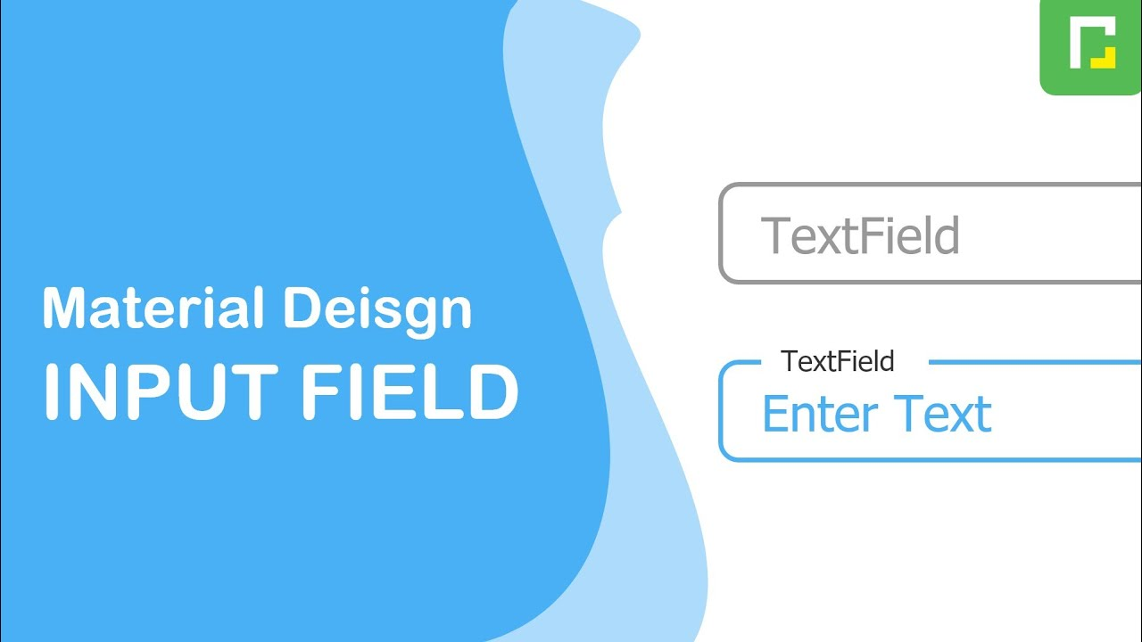 Material design Input field using HTML and CSS