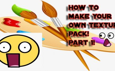 Do It Yourself – Tutorials – How To Make Your Own Minecraft Texture Pack(2021) Fast And Easy Tutorial!(Part 1)