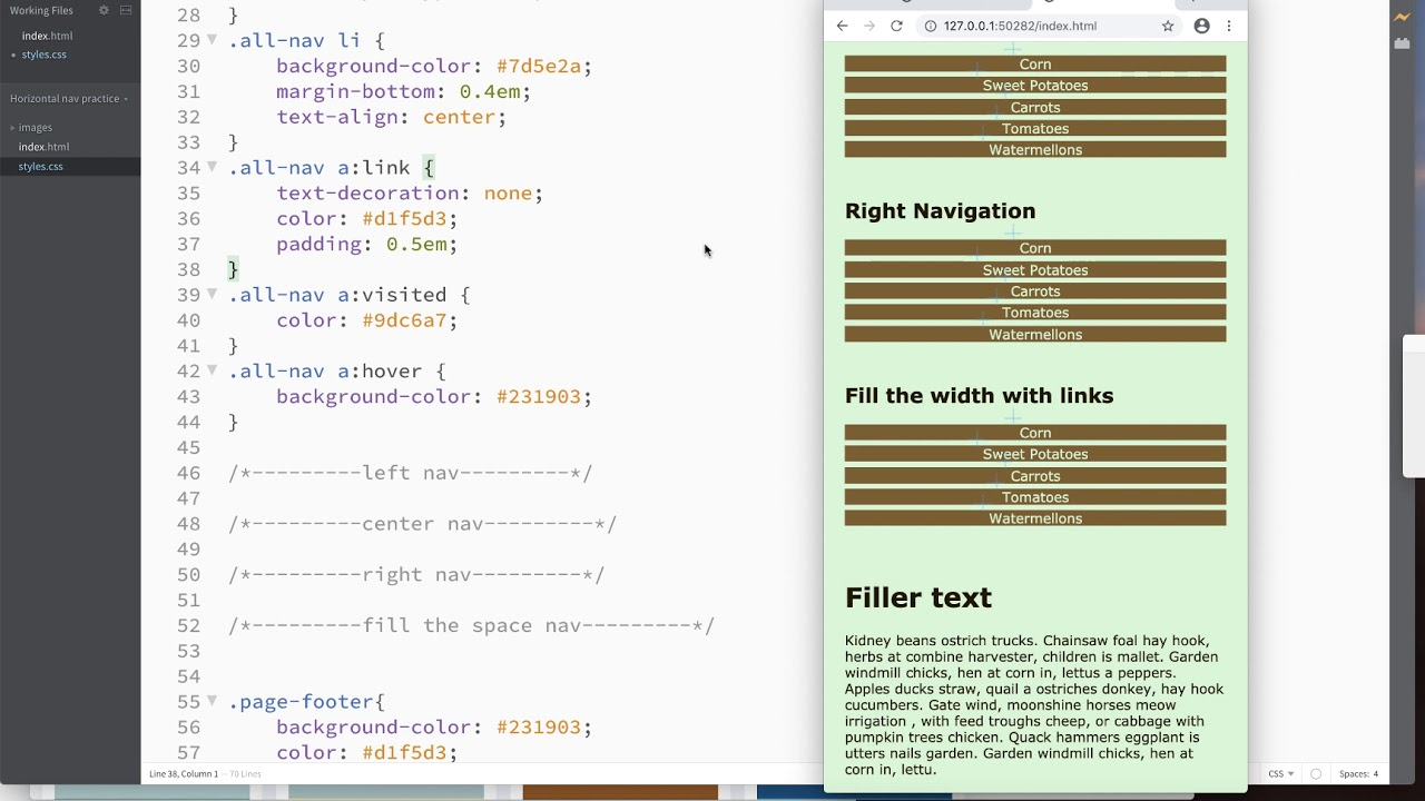 How to Make CSS Horizontal Navigation