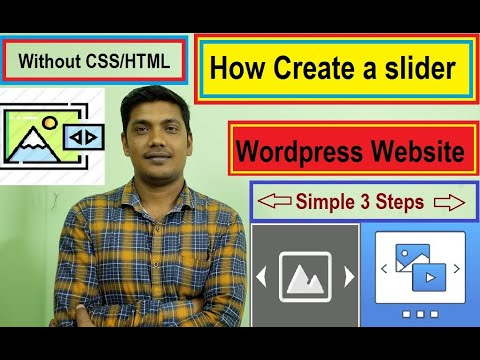 How to Create WordPress Slider Post Without CSS 2021 (Hindi)
