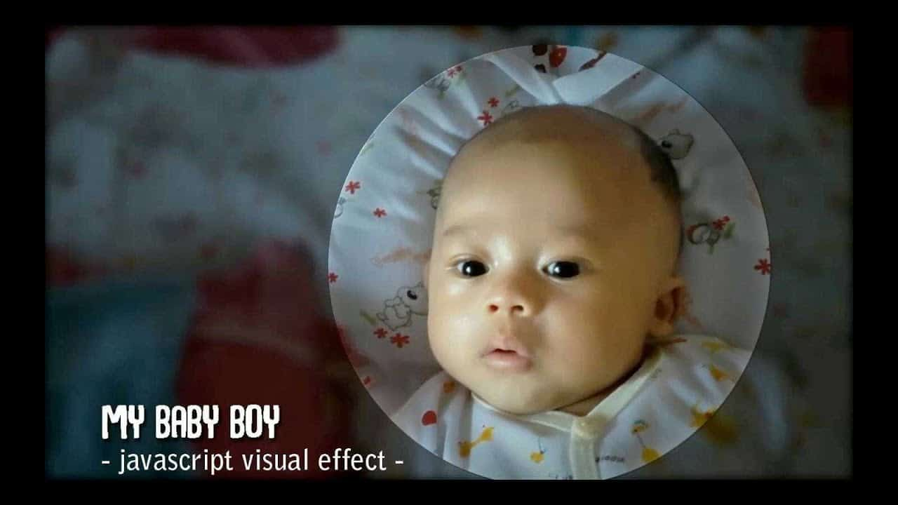 AutoFOCUS Animation EFFECT: My Baby Boy   Pure JS, HTML & CSS   Mahir Ngoding playlist