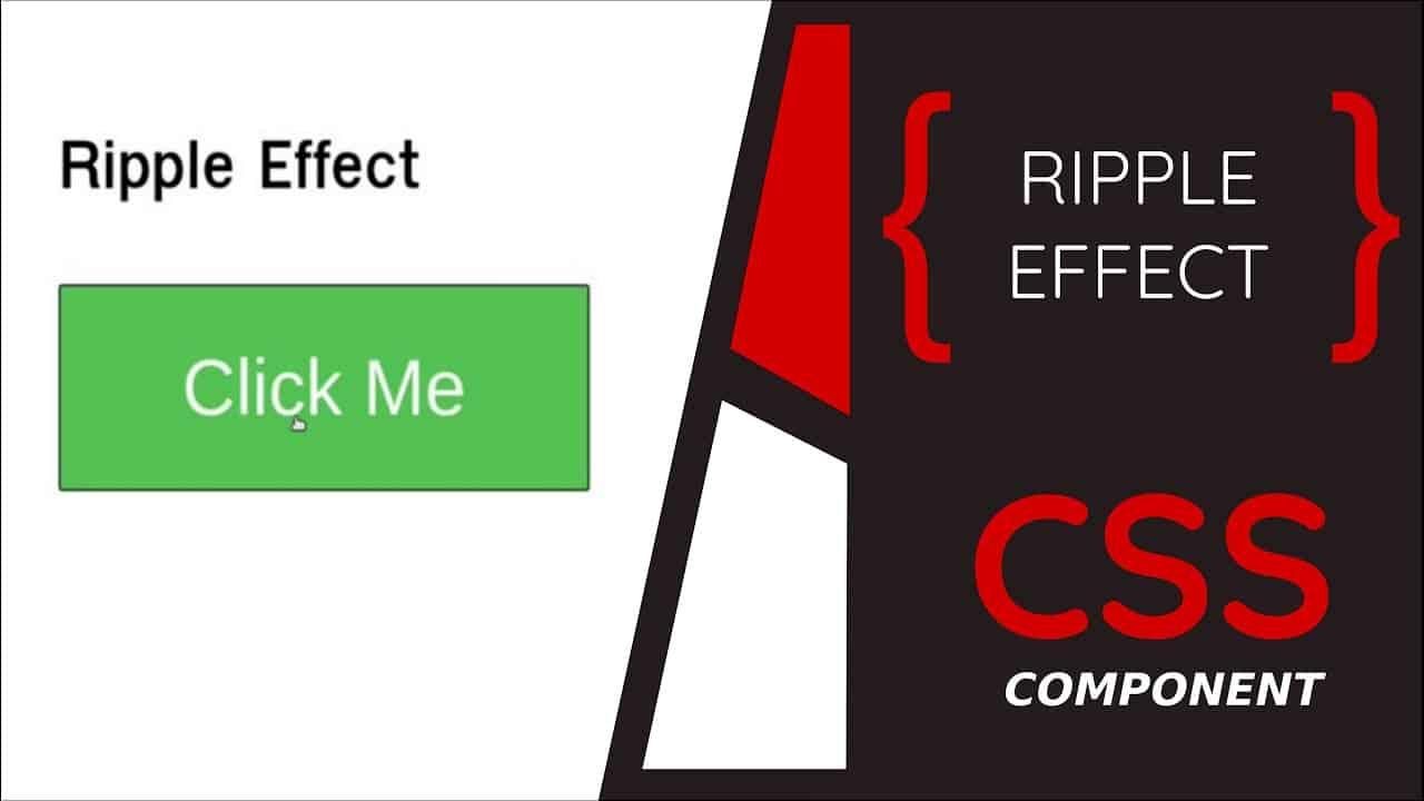 Make Animated Ripple Button | HTML, CSS