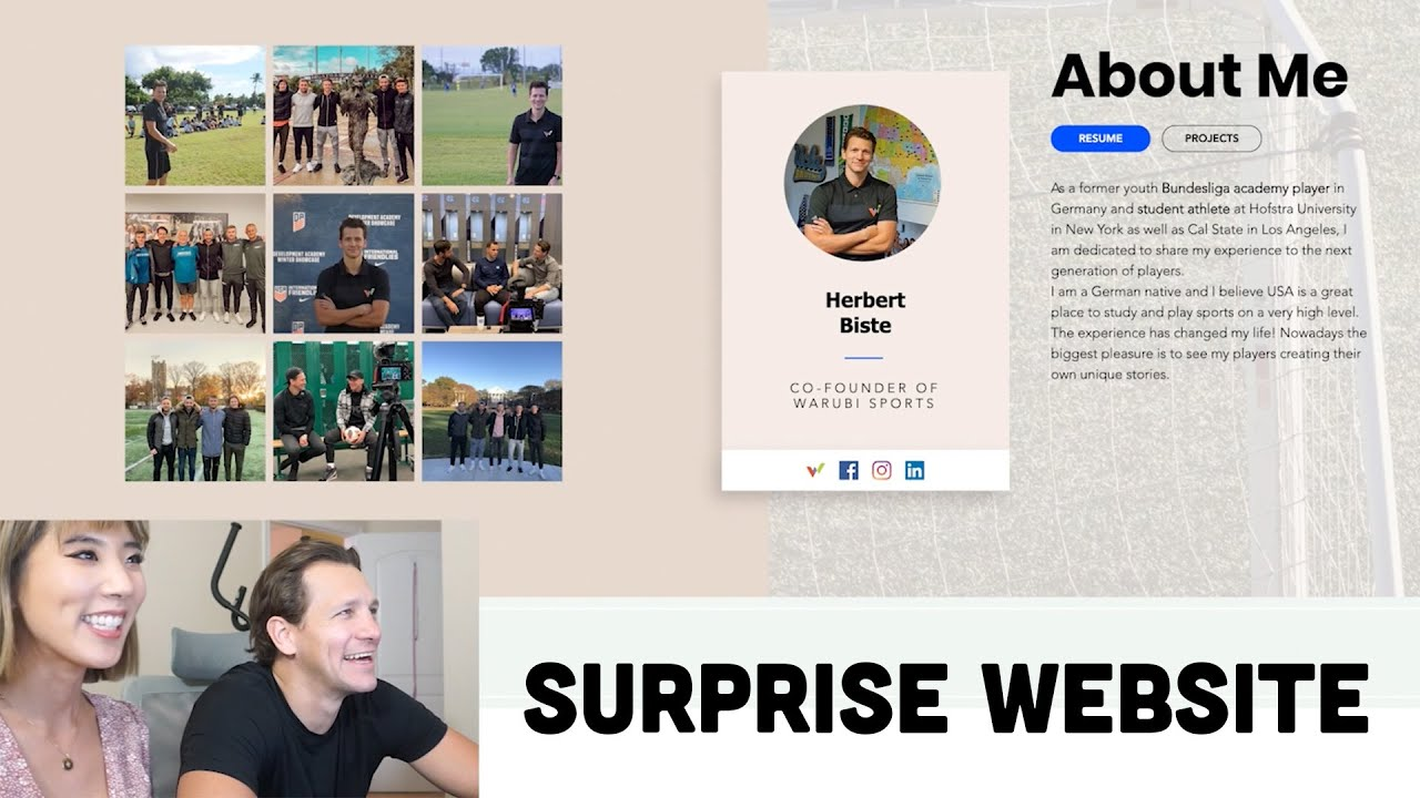 How to Create a Website | Surprising My BF with His Own Website!