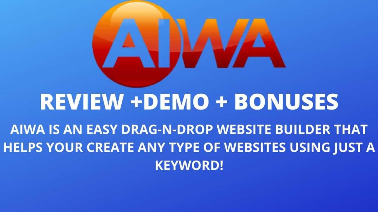 AIWA REVIEW & DEMO + BONUS | How To Make a Website 2021