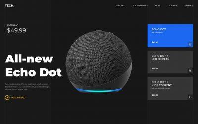 Do It Yourself – Tutorials – Adobe XD Product Website Design – Tutorial