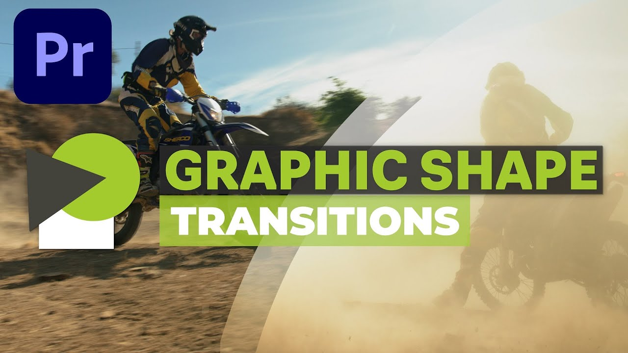 Create TRANSITIONS with shapes | Premiere Pro tutorial