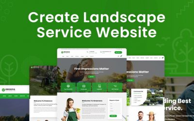 Do It Yourself – Tutorials – Create Website For Landscape, Gardening and Lawn Care Services