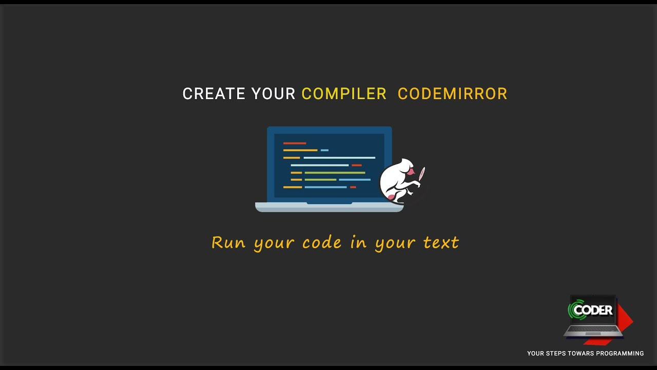 Create Your own Web based Compiler
