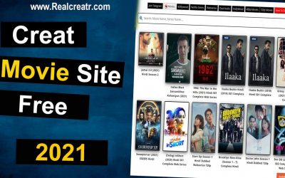 Do It Yourself – Tutorials – Create your own Movie Website   Full Tutorial 2021 II Earn Money With Movie Downloading Website